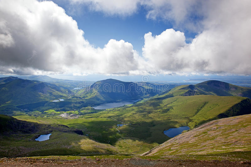 Snowdonia royaltyfria bilder