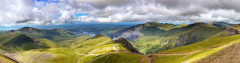 Snowdonia fotografía de archivo libre de regalías
