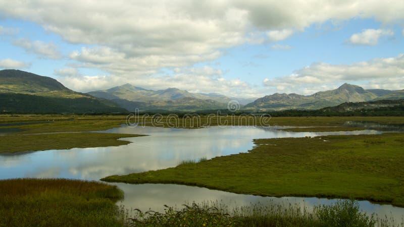 Snowdonia lizenzfreie stockbilder