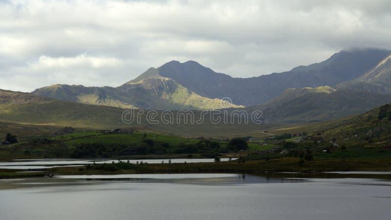Snowdonia stockbilder
