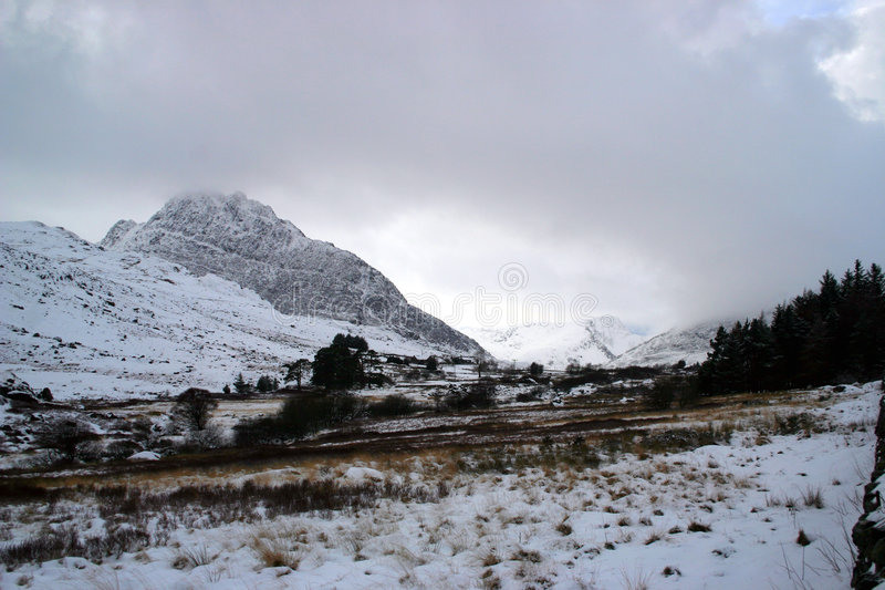 snowdonia royaltyfri fotografi