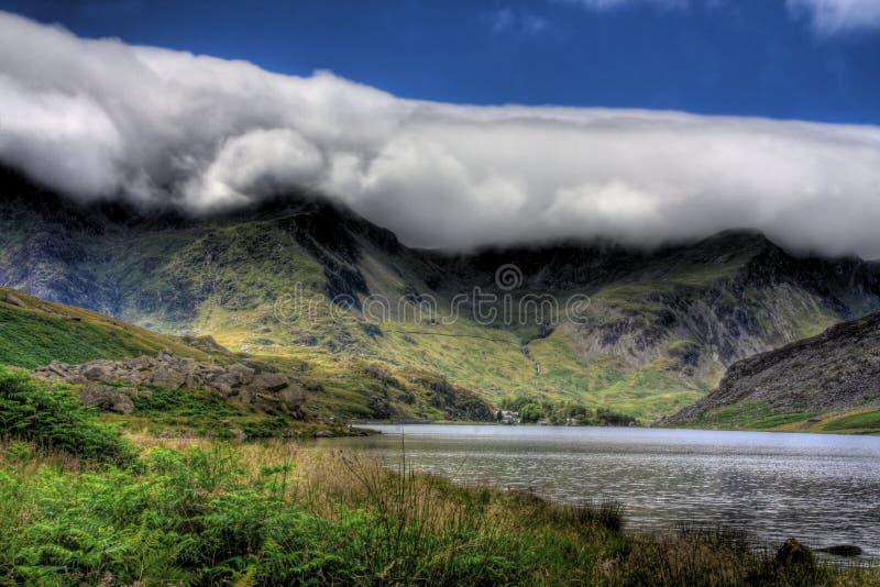 Snowdonia photo libre de droits