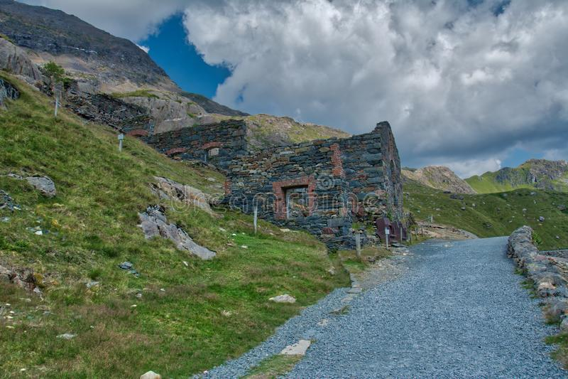 Snowdonia ans góra Snowden fotografia stock