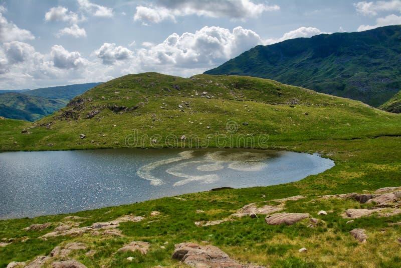 Snowdonia ans Mount Snowden. royalty free stock photo
