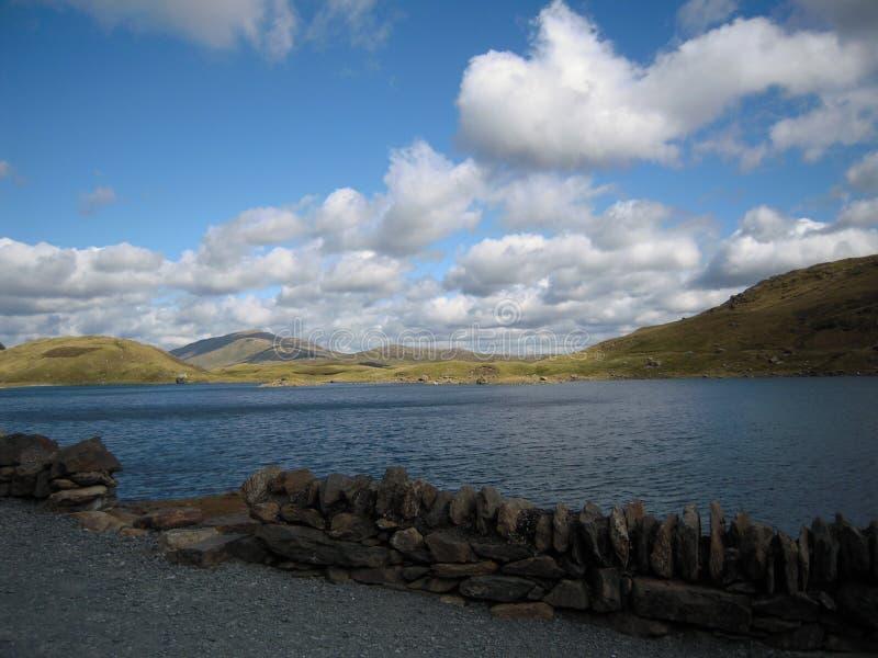 Snowdonia härliga Wales Taget från de Snowdonia maxima trevligt väder royaltyfri foto