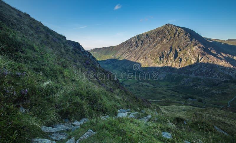 Snowdonia Nationaal Park bij de Zomer stock foto's