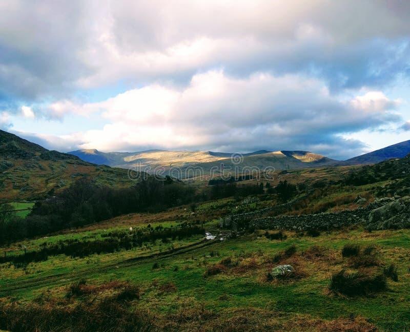 Snowdonia stock image