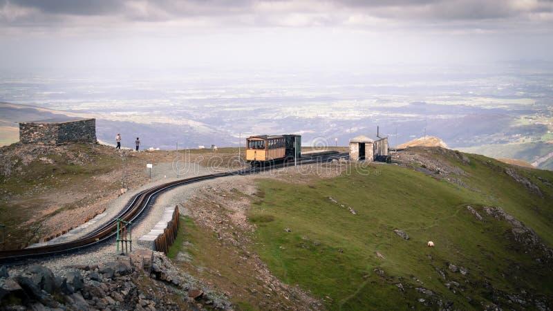 Snowdonia nationalpark royaltyfria foton