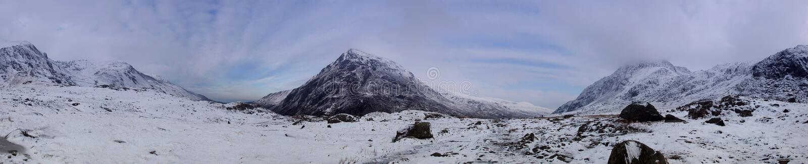 Download Snowdonia Panorama In Winter Stock Photo - Image of panorama, llyn: 23225118