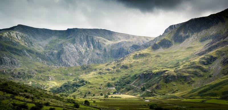 Snowdonia scene stock image