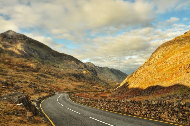 Snowdoniapanorama stock afbeeldingen