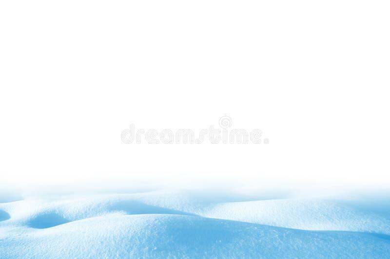 snowdrift royalty-vrije stock foto