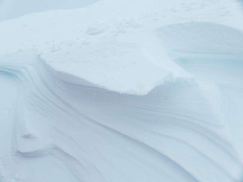 Snowdrift backround στοκ φωτογραφίες