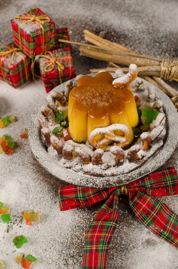 Snowed house dessert stock images