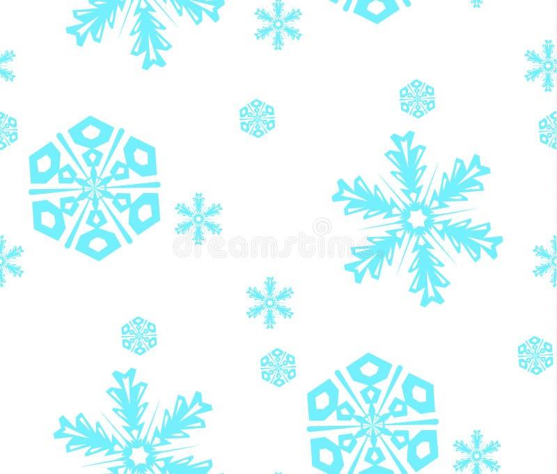 snowfall ilustração royalty free