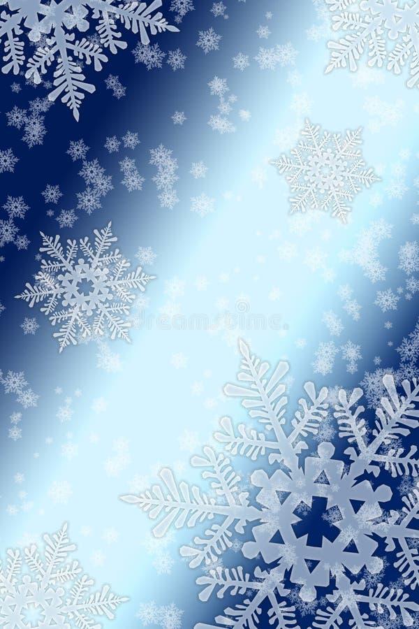 Snowfall royaltyfri illustrationer