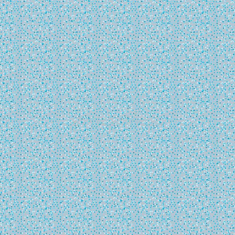 Snowfall background invernale snowflakes punti astrazione blu fotografie stock