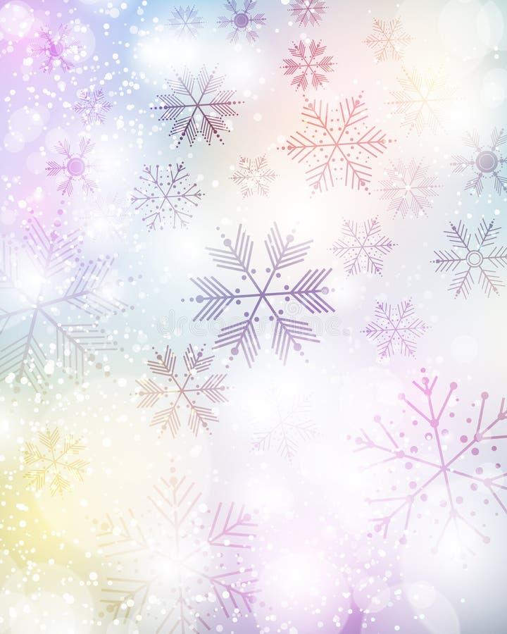 snowflake απεικόνισης σχεδίου ανασκόπησης χειμώνας απεικόνιση αποθεμάτων