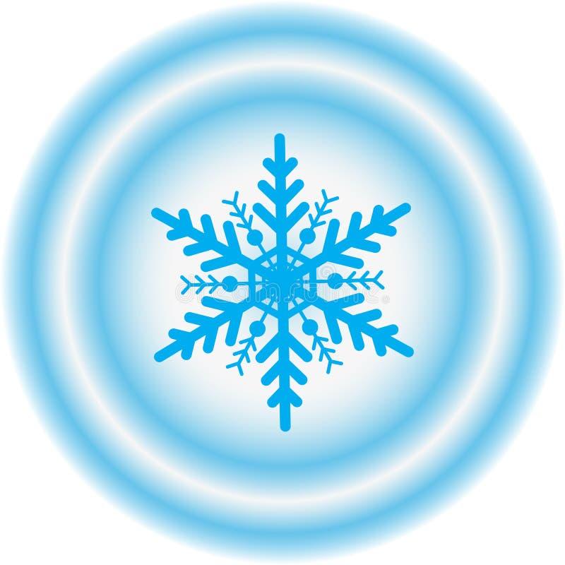 snowflake απεικόνισης σχεδίου χειμώνας στοκ εικόνες