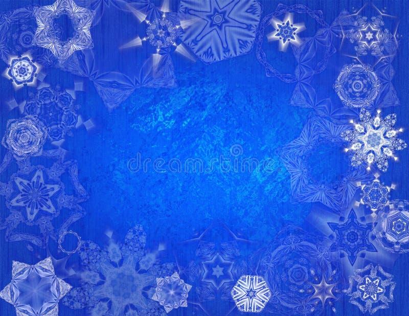 snowflake παγετώνων ανασκόπησης στοκ φωτογραφία με δικαίωμα ελεύθερης χρήσης