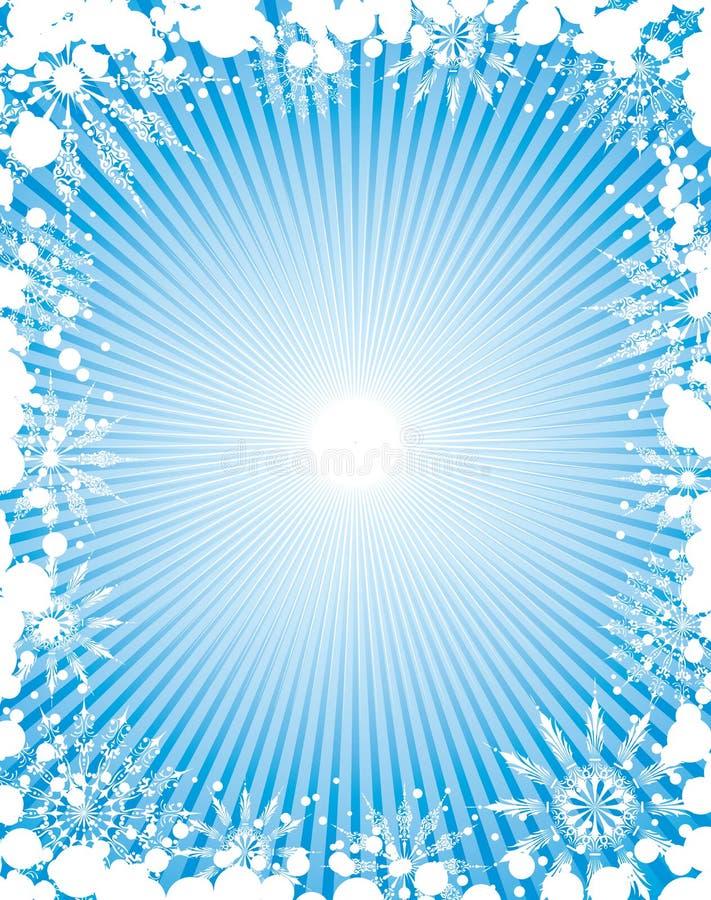 snowflake πλαισίων στοιχείων σχε απεικόνιση αποθεμάτων