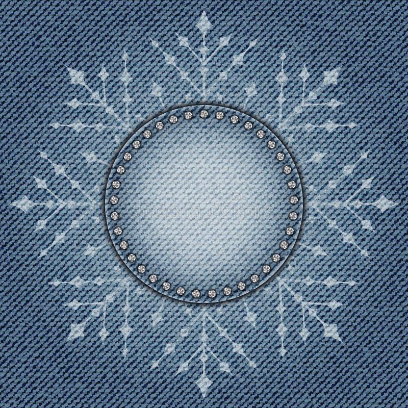 Snowflake τζιν διανυσματική απεικόνιση