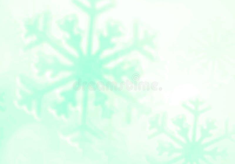 Snowflake Υπόβαθρο χειμερινών διακοπών στοκ εικόνες