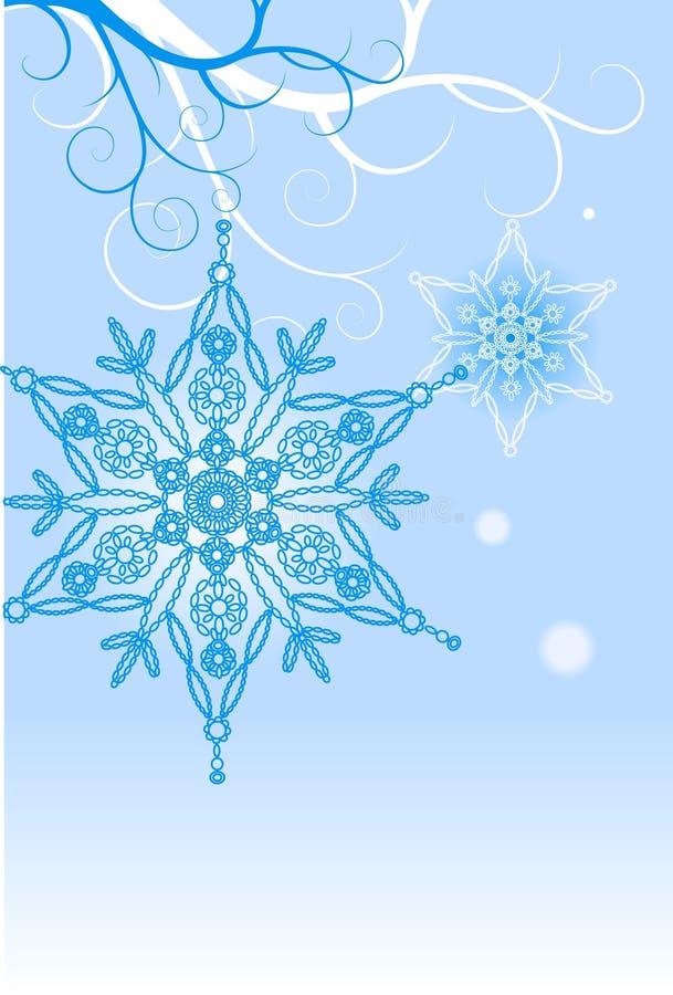 Snowflake royalty free illustration