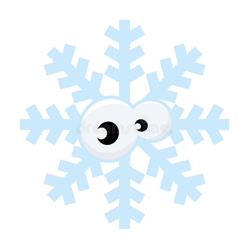 Download Snowflake stock vector. Image of funny, graphic, snow - 27332859