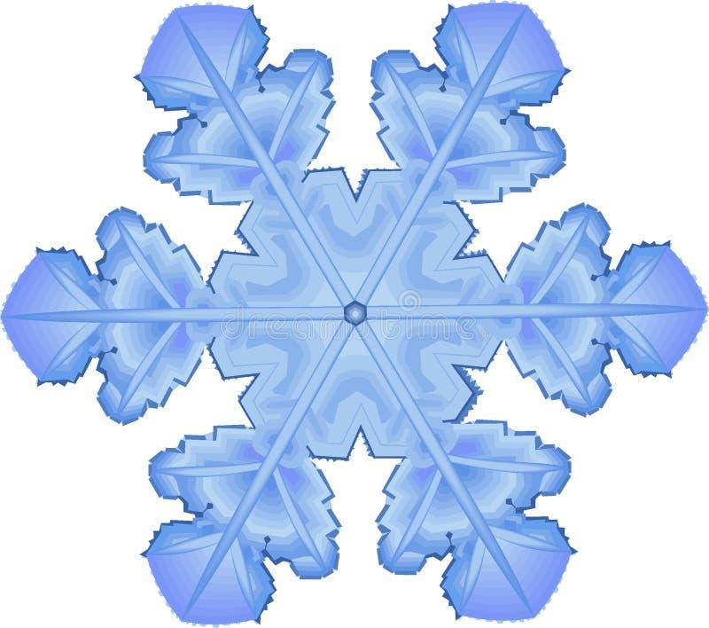 Download Snowflake vektor illustrationer. Illustration av kallt - 288066