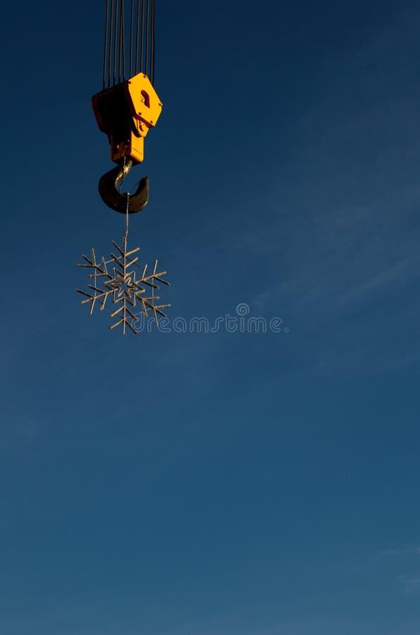 Snowflake royalty free stock image