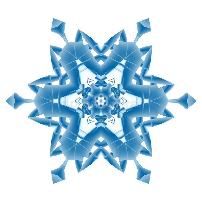 Download Snowflake stock illustration. Image of abstract, frozen - 3067320