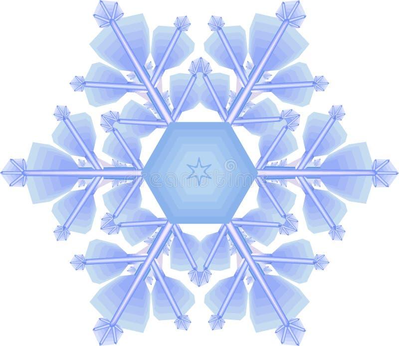 snowflake royaltyfri illustrationer
