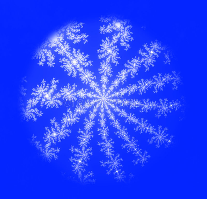 Snowflake stock illustration