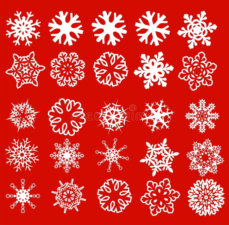 Download Snowflake stock vector. Illustration of crystal, white - 6823608