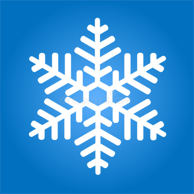 snowflake vektor illustrationer