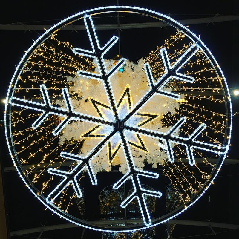 snowflake image stock