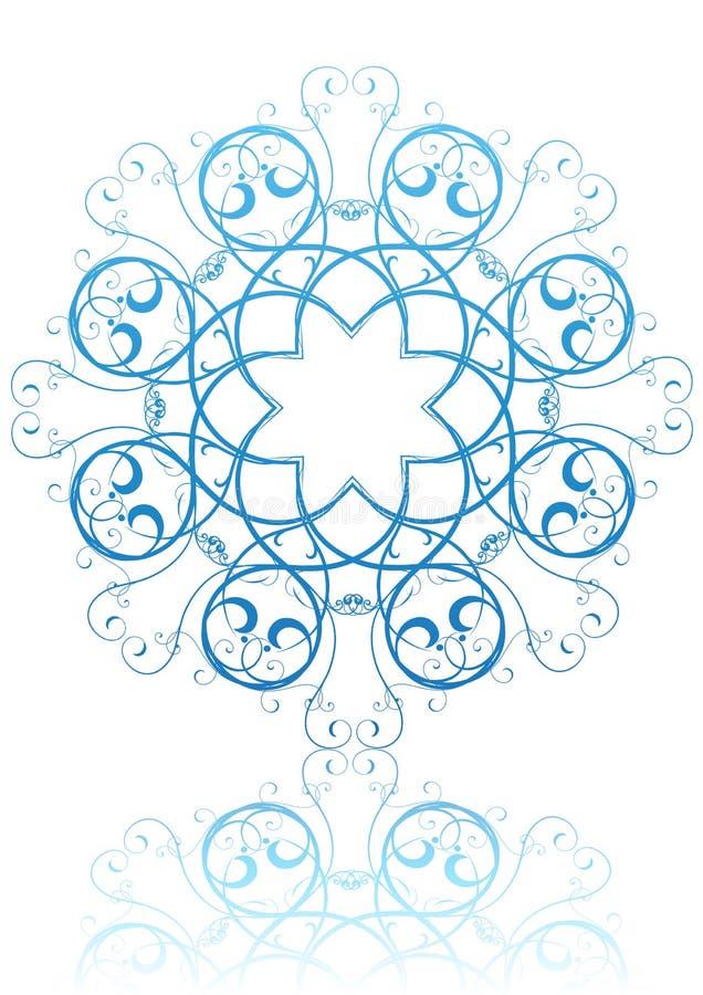 Download Snowflake stock vector. Illustration of geometric, design - 8970902
