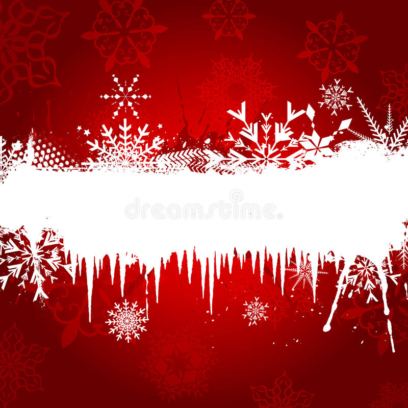 Free Snowflake And Icicle Background Royalty Free Stock Images - 21693659