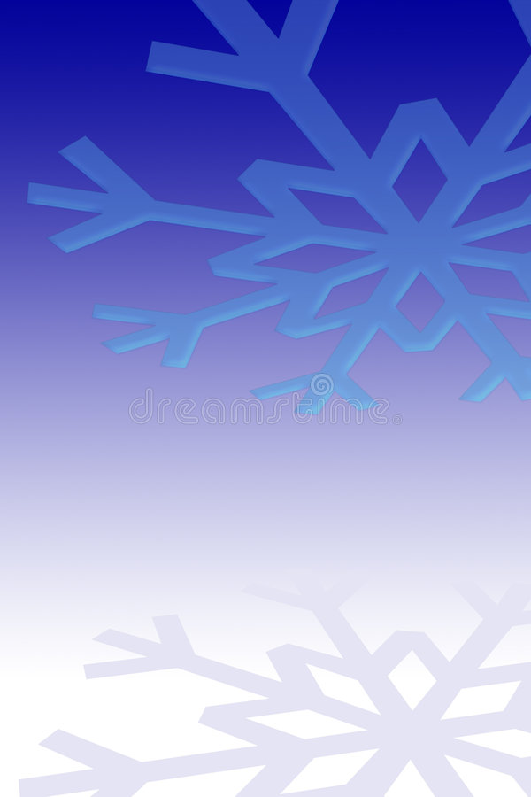 Snowflake background vector illustration