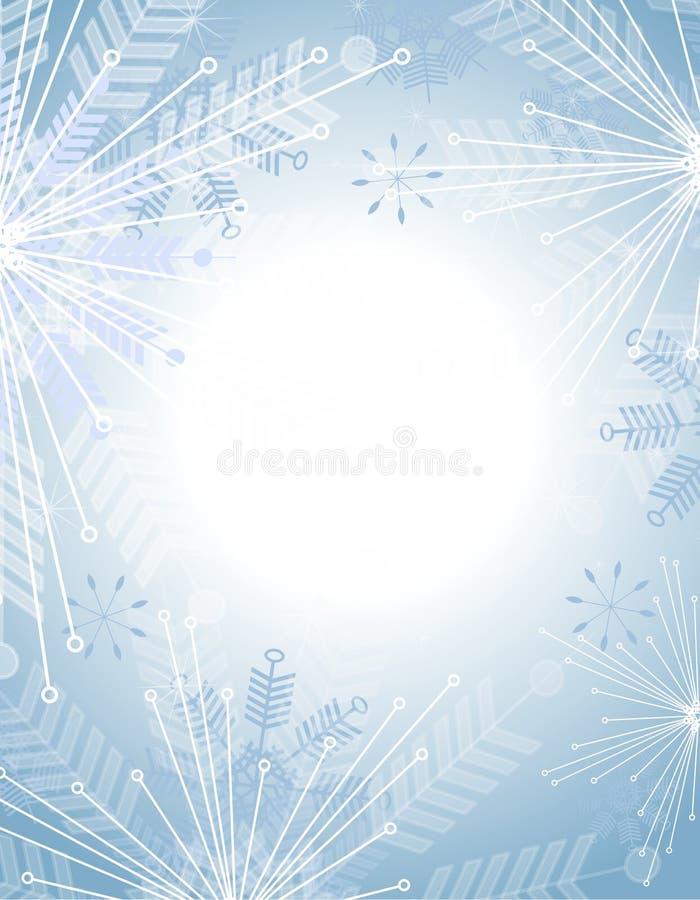 Free Snowflake Background Royalty Free Stock Image - 6712626