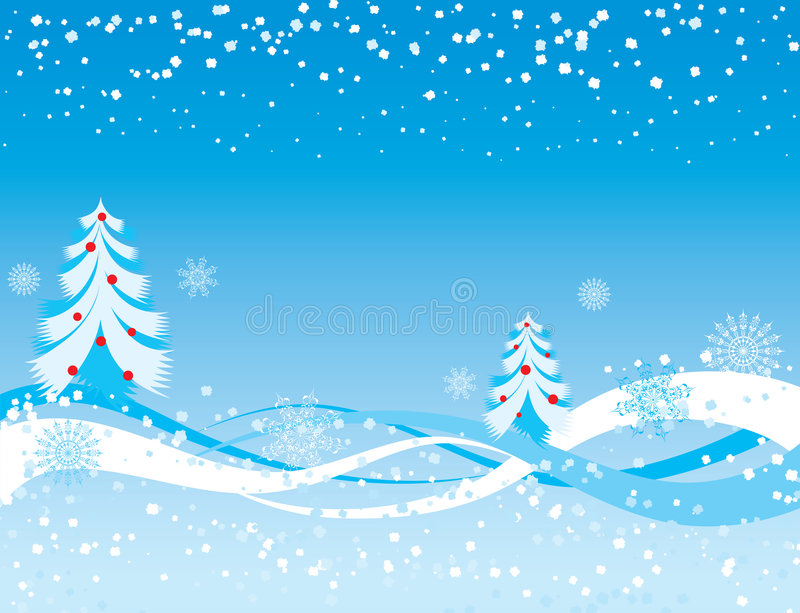 Snowflake background, vector royalty free illustration
