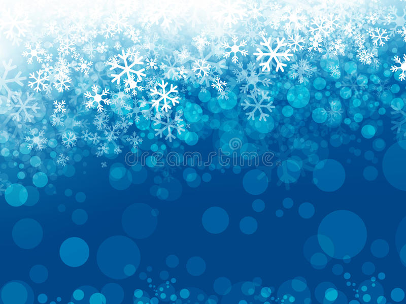 Snowflake Background vector illustration