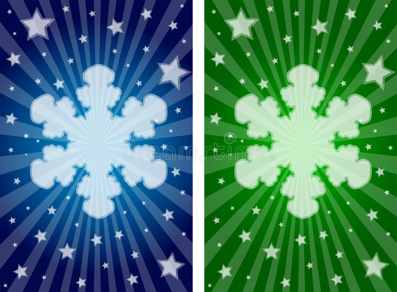 Download Snowflake Banners Stock Photo - Image: 17337890