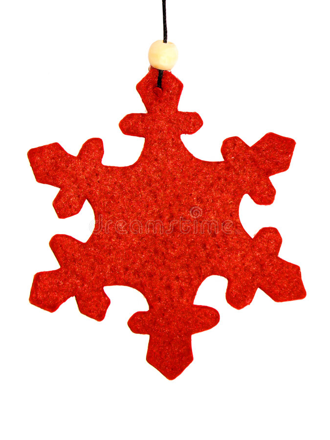 Snowflake Christmas Ornament 1 royalty free stock images