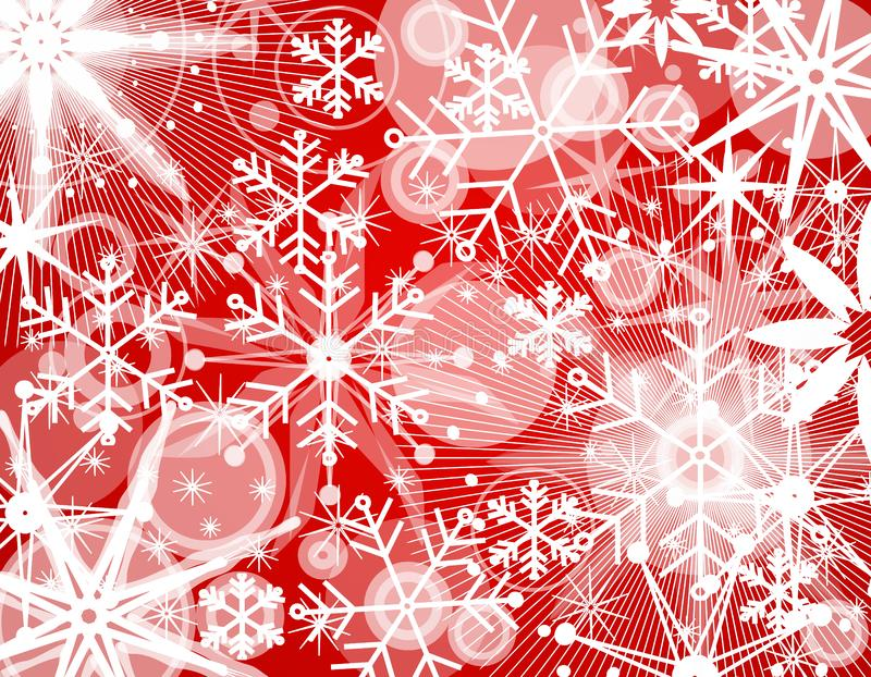 Snowflake Collage Background 2 stock image