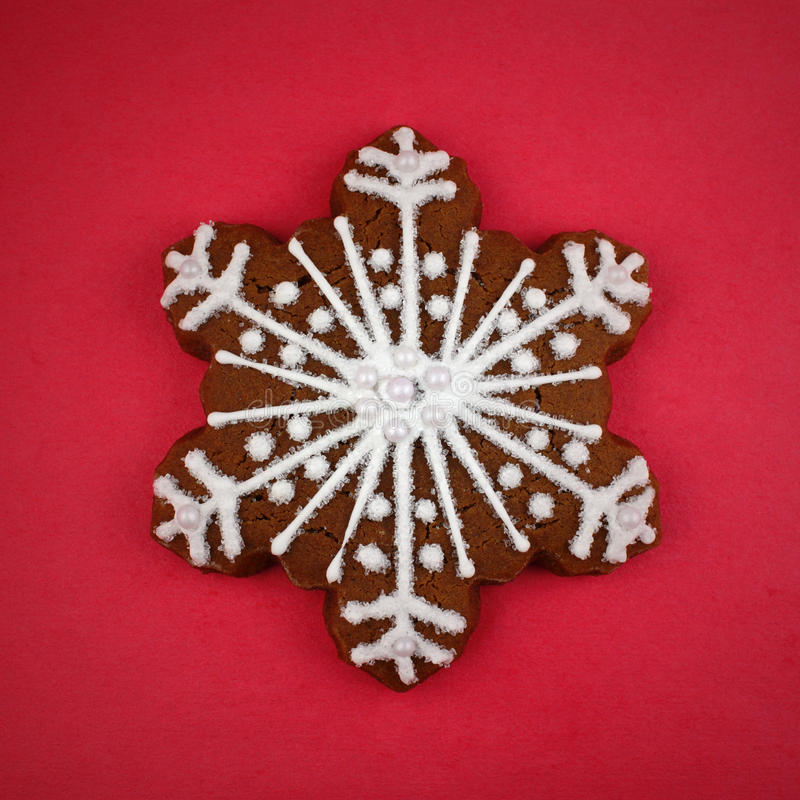 Download Snowflake Cookie stock photo. Image of decorated, snowflake - 22510542