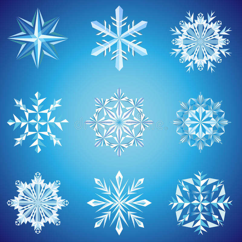 Download Snowflake Crystals Stock Photography - Image: 26120512