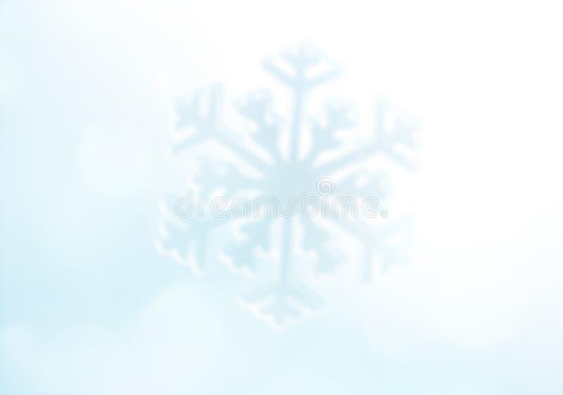 snowflake Fond de vacances d'hiver photos libres de droits