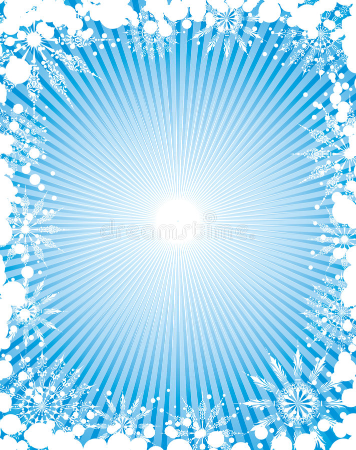 Free Snowflake Grunge Frame, Elements For Design, Vector Stock Images - 1283974